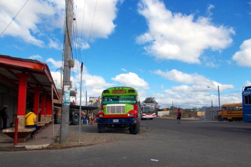 Stadtbusterminal ohne Schild: Hospital, Estelí
